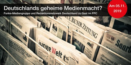 Deutschlands geheime Medienmacht? Tickets