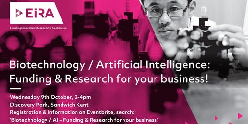 Biotechnology / AI - Funding & Research for your business!