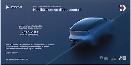Nucleus: concept vehicle by Icona Design al MAUTO biglietti