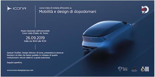 Nucleus: concept vehicle by Icona Design al MAUTO