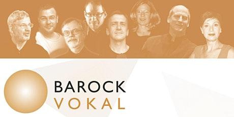 """BAROCK VOKAL: """"Be the message"""" Tickets"""
