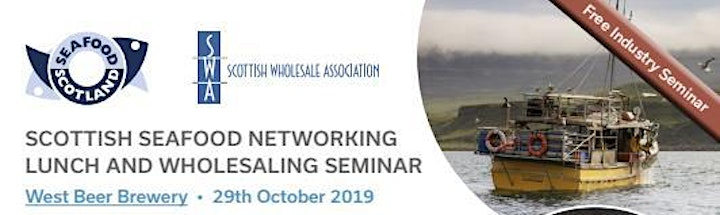 Scottish seafood networking lunch and wholesaling seminar image