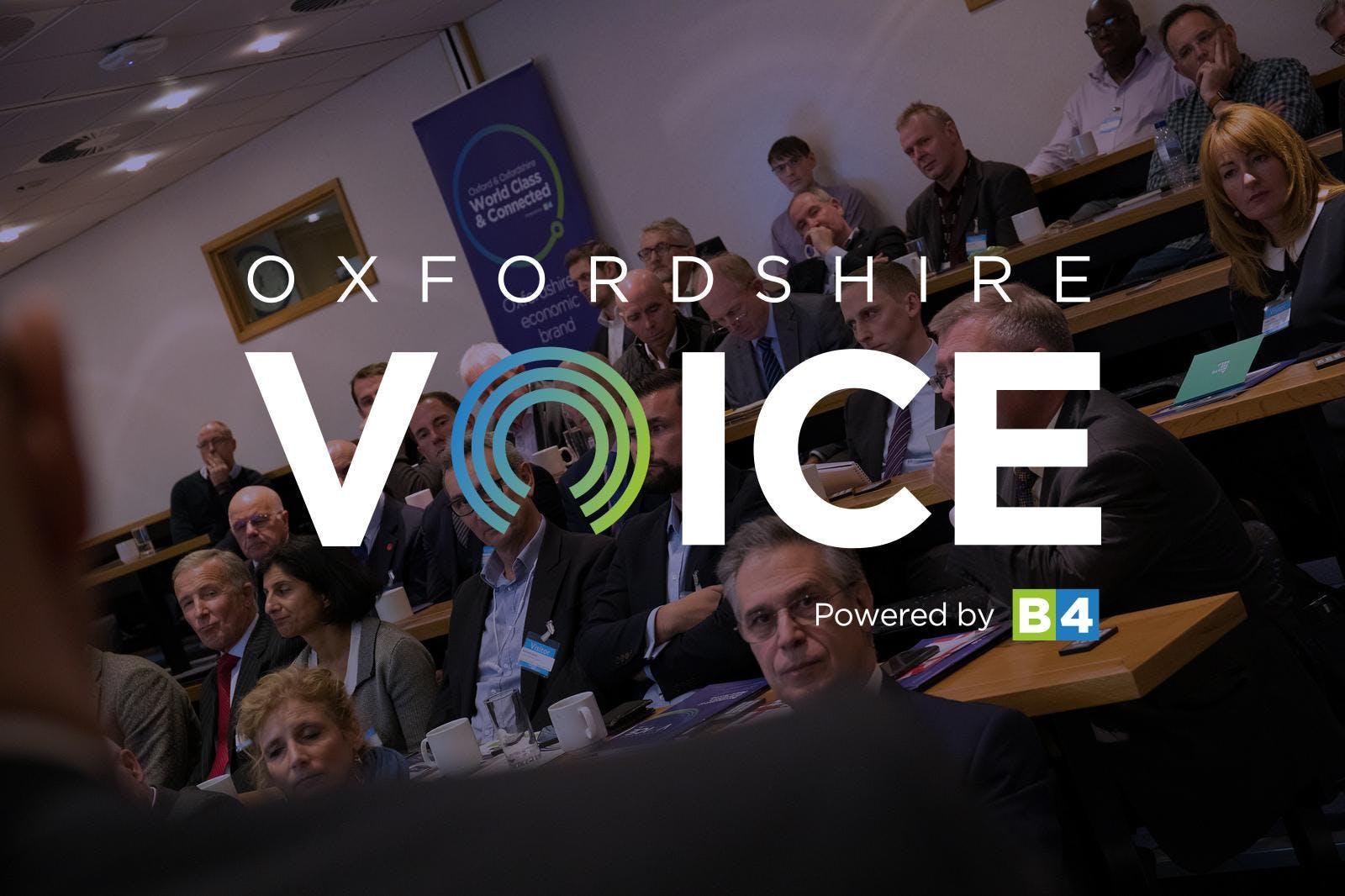 December Oxfordshire Voice Forum