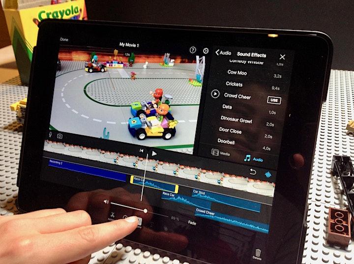 Trickfilm Kurs mit dem iPad–Sommerferien 1: Bild