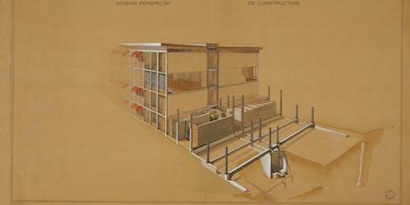 La mémoire en œuvre. Recherche et archives d'architecture.Eugène Beaudouin billets