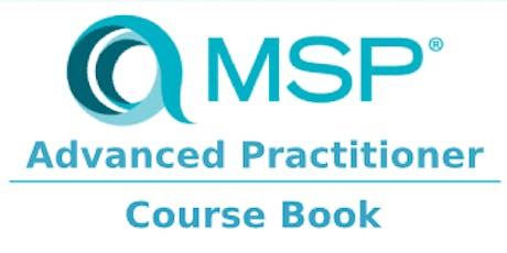 Managing Successful Programmes – MSP Advanced Practitioner 2 Days Training in Paris billets