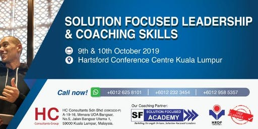 Solution Focused Leadership & Coaching Skills