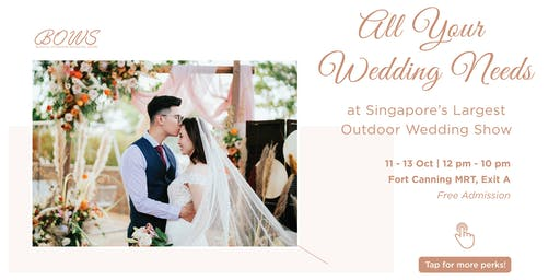 Blissful Outdoor Wedding Show (BOWS)