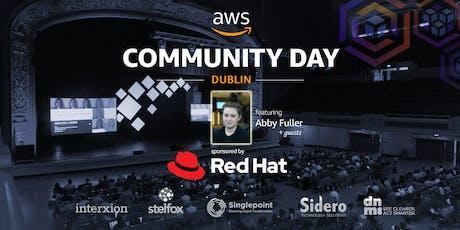 AWS Community Day Dublin - 2019 tickets