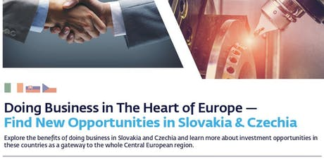 Doing Business in The Heart of Europe  tickets