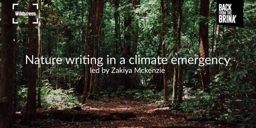 Nature writing in a climate emergency