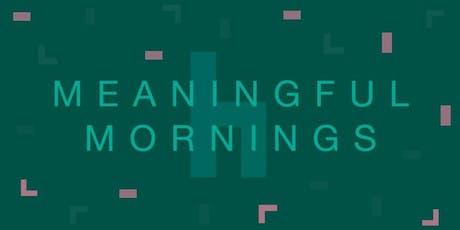 Meaningful Mornings: Hvordan ser fremtidens detailhandel ud? tickets