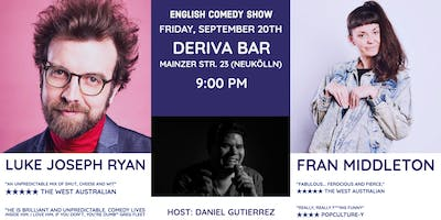 Luke Joseph Ryan & Fran Middleton - English Comedy Show