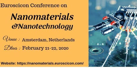 Nanomaterials 2020 tickets