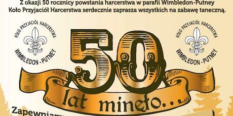 50th Anniversary Dance tickets