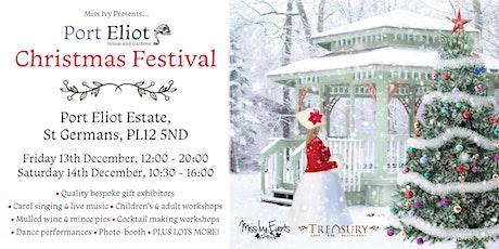 Port Eliot Christmas Festival, Live music, Stalls, Demos, food etc tickets