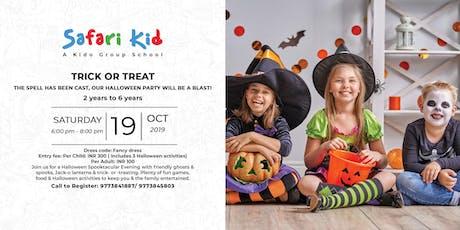 Halloween Party- Safari Kid Phase IV tickets