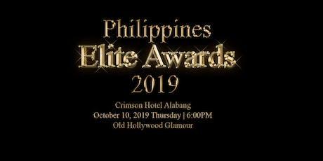 Philippines Elite Awards 2019 tickets