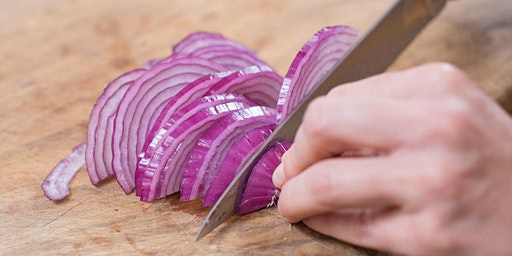 Knife skills with Chef Kanthi