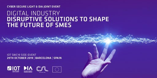 DIGITAL INDUSTRY: disruptive solutions to shape the future of SMEs