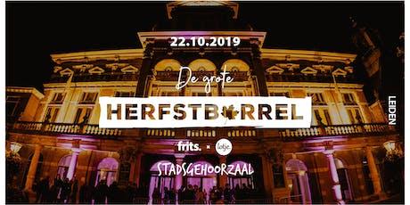 Frits & Lotje's Grote Herfstborrel | Leiden tickets