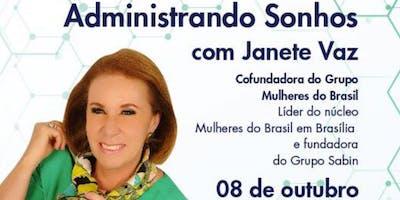 Grupo Mulheres do Brasil - Reunião Geral & Palestra c/ Janete Vaz