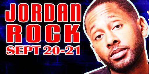 Comedian Jordan Rock at Laughs Comedy Club in Seattle!