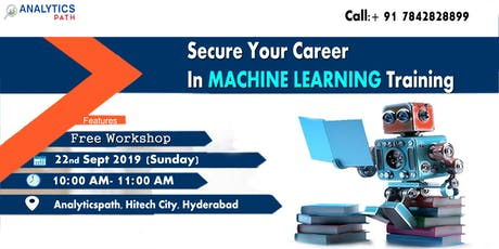 Enroll now for Analytics Path Free Machine Learning  Workshop In Hyderabad tickets