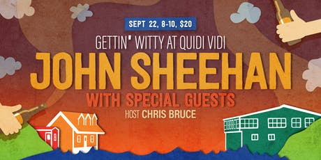 Gettin' Witty At Quidi Vidi - With John Sheehan tickets