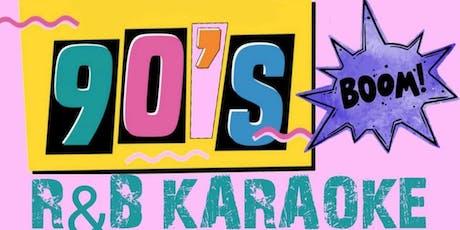 90's RNB Karaoke tickets