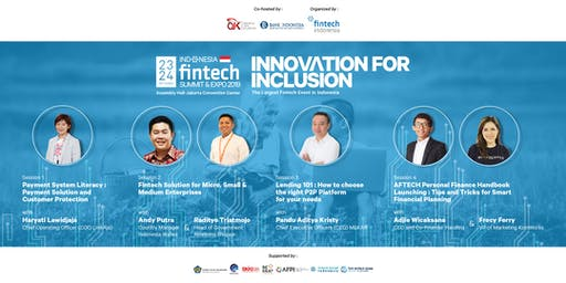 Indonesia Fintech Expo 2019: Financial Literacy Program