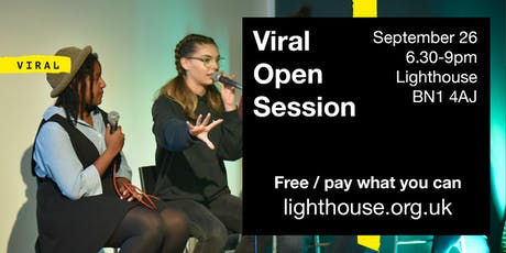 Viral Open Session: 2018 artists and mentors tickets