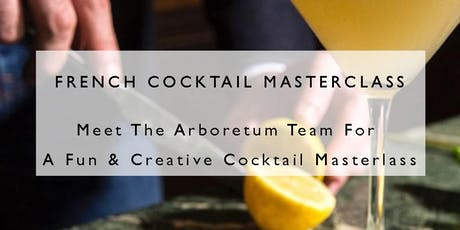French Cocktail Masterclass tickets