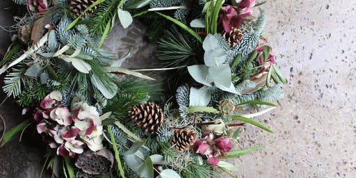 Luxury Wreath Making Workshop