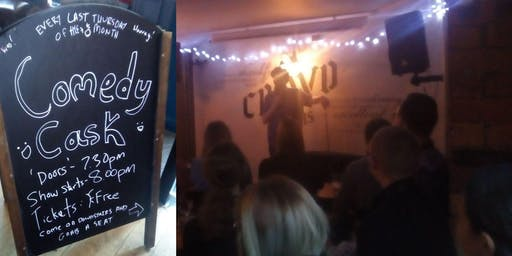 Comedy Cask - Free Monthly Comedy Club in Leeds