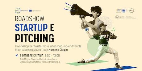 Startup e Pitching all'Università di Catania biglietti