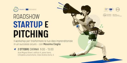 Startup e Pitching all'Università di Catania