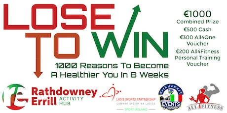LOSE to Win  8 Weeks to a Healthier You tickets