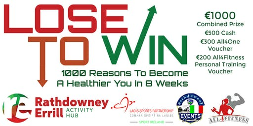 LOSE to Win  8 Weeks to a Healthier You