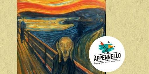 Pittura da urlo: aperitivo Appennello a Milano