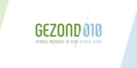 Gezond010 Masterclass 2: Team Motivatie tickets