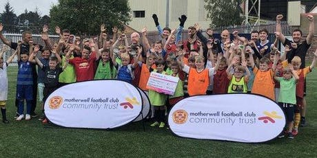 Motherwell  Football Club Community Trust October Camps 2019 tickets