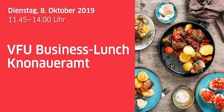 VFU Business-Lunch Knonaueramt Tickets