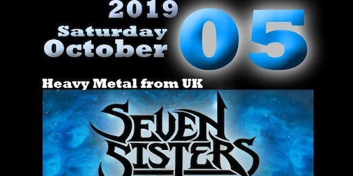 SEVEN SISTERS + AMULET from UK @Ragnarok Live Club