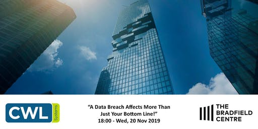 A Data Breach Affects More Than Just Your Bottom Line!