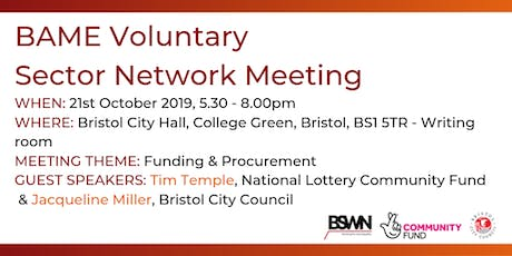 BAME Voluntary Sector Network Meeting tickets