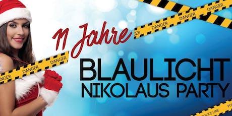 Blaulicht Nikolaus Party Tickets