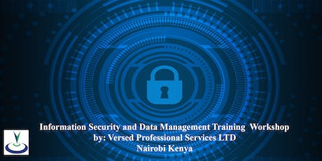 Training Workshop on  Information Security and Data Management tickets