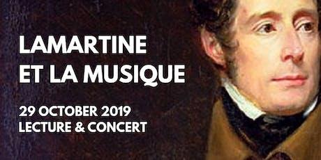 Lamartine et la musique - Concert tickets