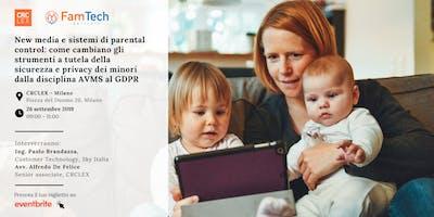 New media e sistemi di Parental Control: come cambiano gli strumenti a tutela della sicurezza e privacy dei minori